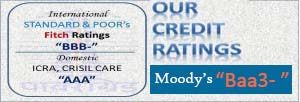 Our Credit Ratings