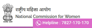 National Commission for Women. Helpline 7827-170-170