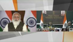 Hon'ble PM inaugurated 320 kV 2000 MW HVDC VSC Project in Thrissur through video conferencing