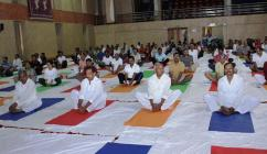Yoga Day 2017 at MP Hall